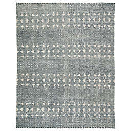 Jaipur Living Reign Abelle 5' x 8' Hand Knotted Area Rug in Teal/Grey