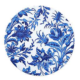 Saro Lifestyle Florentia Charger Plates in Indigo (Set of 4)