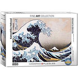 Eurographics 1,000-Piece Great Wave of Kanagawa Puzzle