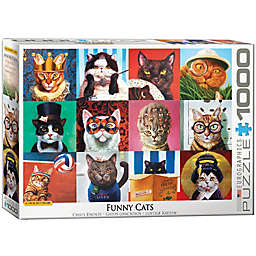 Eurographics 1,000-Piece Cat Portraits Puzzle
