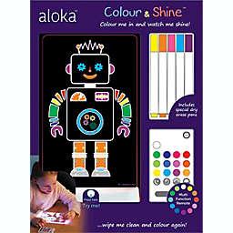 Lumenico Robot Color & Shine™ Kids Nightlight & Craft Set