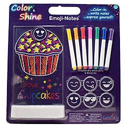Lumenico Cup Cake Emoji Notes Color & Shine™ Kids Nightlight