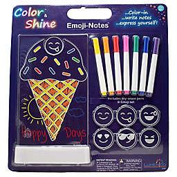 Lumenico Ice Cream Emoji Notes Color & Shine™ Kids Nightlight