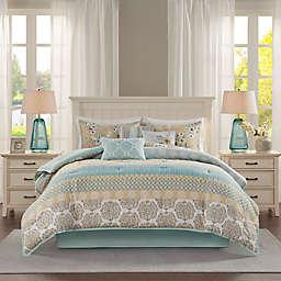 Madison Park® Willa 7-Piece King Comforter Set in Green