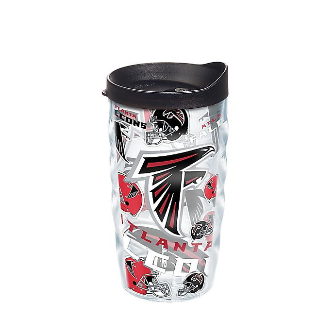 Alternate image 1 for Tervis® NFL Atlanta Falcons 10 oz. Wavy Allover Wrap Tumbler with Lid
