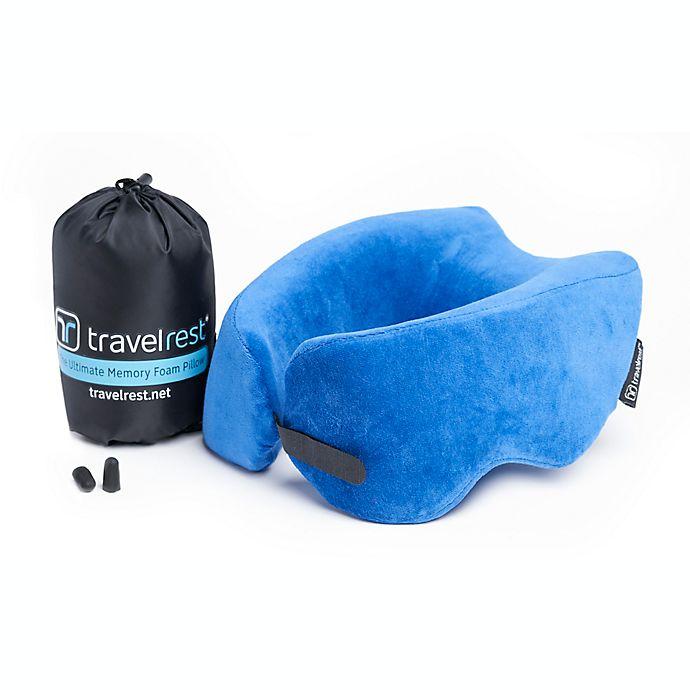 Alternate image 1 for Travelrest® Nest™ Ultimate Memory Foam Travel Pillow