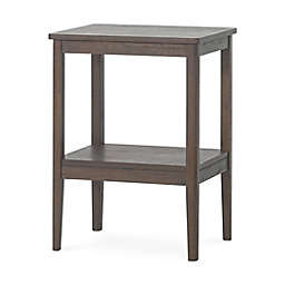 Forever Eclectic™ Folio 2-Tier Side Table in Truffle
