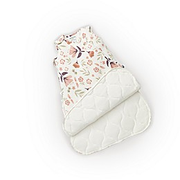 Günamuna Blooms 2.6 TOG Premium Sleep Bag in Ivory/Pink