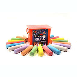 Regal Games Chalk City 20-Pack Jumbo Multicolor Sidewalk Chalk
