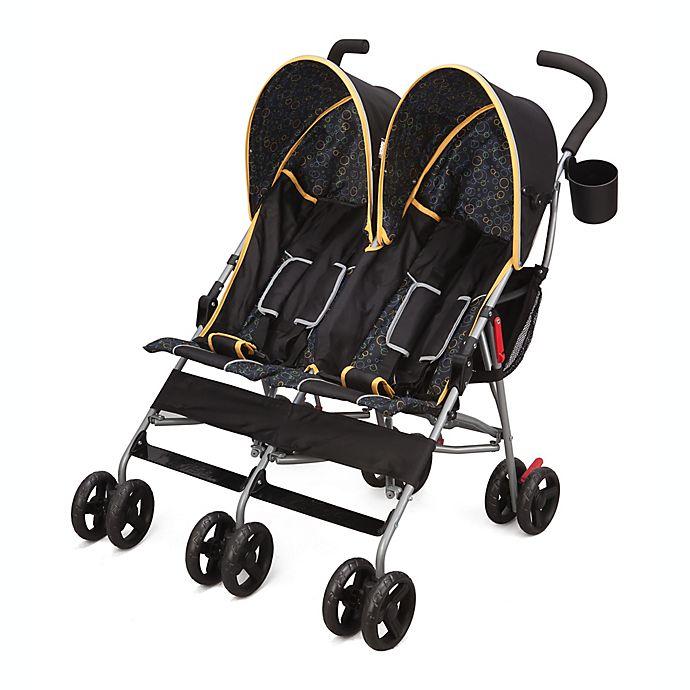 Alternate image 1 for Delta Children LX Side by Side Double Stroller