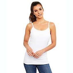 A Pea in the Pod Medium Luxe Clip Down Nursing Cami in White