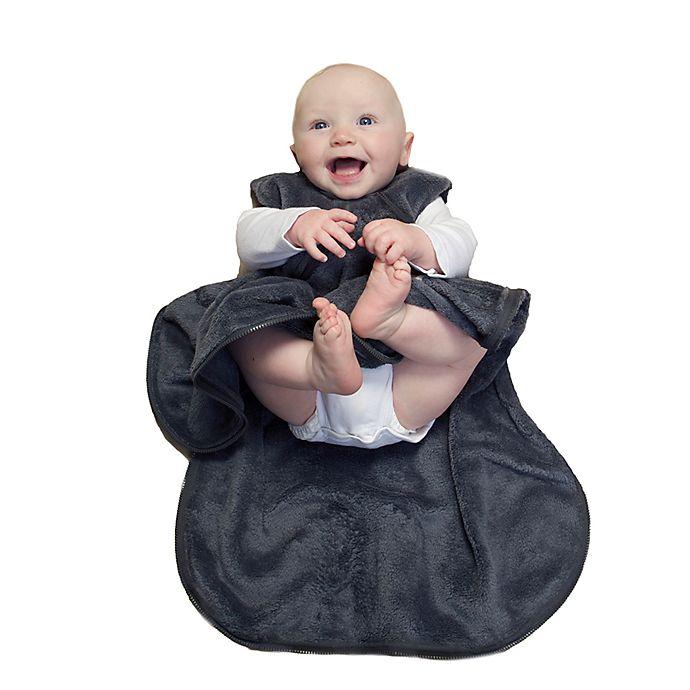 Alternate image 1 for Günamuna 1.6 TOG Fleece Sleep Bag in Charcoal