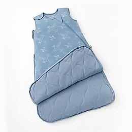 Gunamuna® Airplanes Premium Wearable Blanket with WonderZip® in Blue