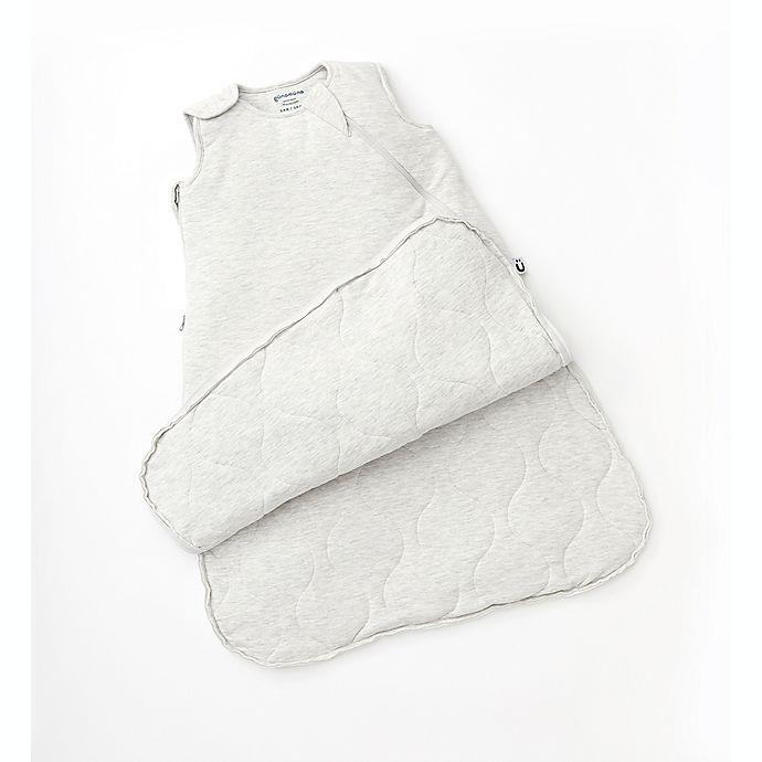 Alternate image 1 for Gunamuna® Size 24-36M Premium 1.0 TOG Wearable Blanket with WonderZip® in Heather Grey