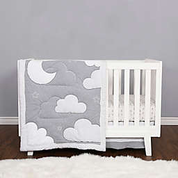 Baby's First by Nemcor 4-Piece Counting Stars Crib Bedding Set