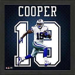 NFL Dallas Cowboys Amari Cooper Impact Jersey Framed Photo