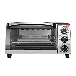 Black & Decker™ Natural Convection 4-Slice Toaster Oven in Stainless Steel