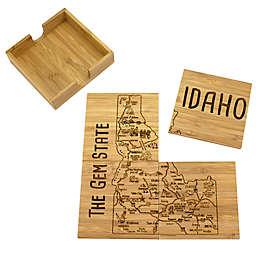 Totally Bamboo Idaho Puzzle 5-Piece Coaster Set