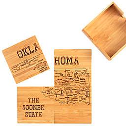 Totally Bamboo Oklahoma Puzzle 5-Piece Coaster Set