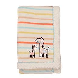 Little Me® Giraffe Stripe Blanket in Yellow