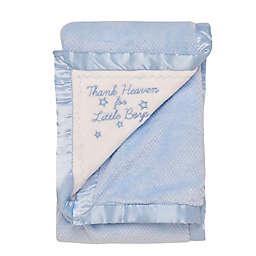 """Little Me® """"Thank Heaven"""" Blanket in Blue"""