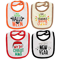 Baby Starters® 4-Pack Fall Holiday Bibs