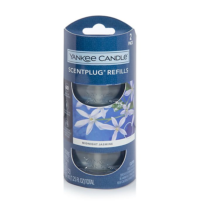 Alternate image 1 for Yankee Candle® Scentplug® Midnight Jasmine Refill (Set of 2)