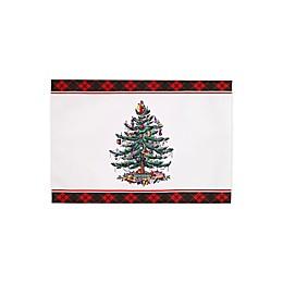 Spode® Christmas Tree Tartan Placemats (Set of 4)