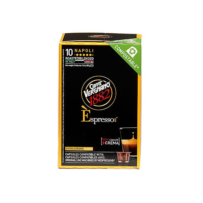 Alternate image 1 for Caffe Vergnano® Napoli Espresso Capsules 10-Count