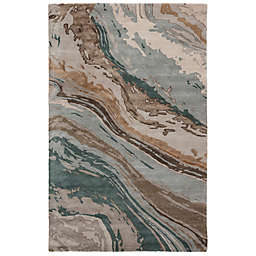 Jaipur Living Conley 8' x 11' Handcrafted Area Rug in Teal/Grey