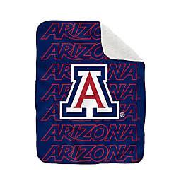 University of Arizona 60-Inch x 70-Inch Echo Plush Logo Blanket