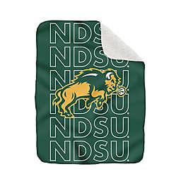 North Dakota State University-Fargo 60-Inch x 70-Inch Echo Plush Logo Blanket