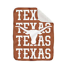 University of Texas - Austin 60-Inch x 70-Inch Echo Plush Logo Blanket