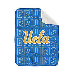UCLA 60-Inch x 70-Inch Echo Plush Logo Blanket