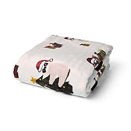 Sloth Christmas Plush Throw Blanket