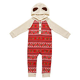 Baby Starters® Newborn Rudolph the Red Nosed Reindeer Hooded Coverall in Red