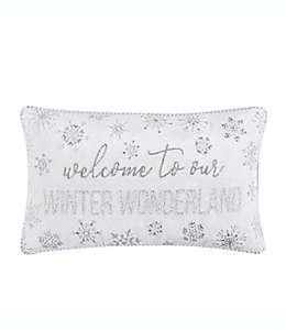 Cojín decorativo de algodón Winter Wonderland