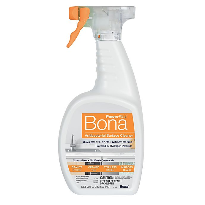 Alternate image 1 for Bona PowerPlus® 22 oz. Unscented Antibacterial Surface Cleaner