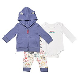 Baby Starters® 3-Piece Good Boy Dog Hooded Jacket, Bodysuit, and Pant Set