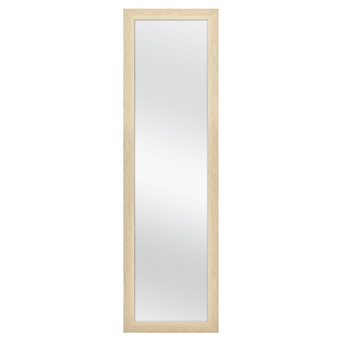 Alternate image 1 for 51-Inch x 15-Inch Rectangular Over-the-Door Mirror in Natural