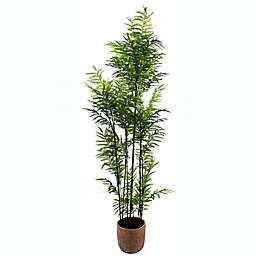 Global Caravan™ 52-Inch Faux Plant in Decorative Cement Pot