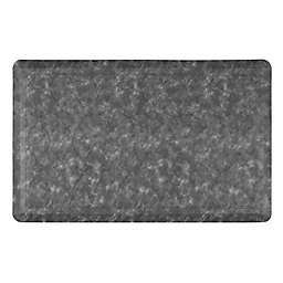 Home Dynamix Gentle Step 20-Inch x 30-Inch Embossed Trellis Mat in Grey