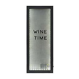 Prinz Light-Up Wine Bottle Cork Holder Letterboard