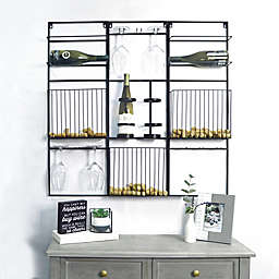 Prinz Wine Themed Letterboard and Wine Rack Collection
