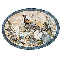Certified International Harvest Gatherings Oval Platter