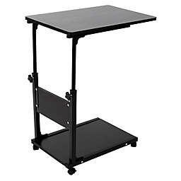 Mind Reader Adjustable Height Laptop Desk in Black