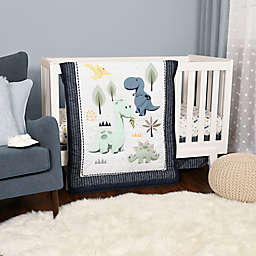 Baby's First by Nemcor 4-Piece Roarly Awesome Crib Bedding Set