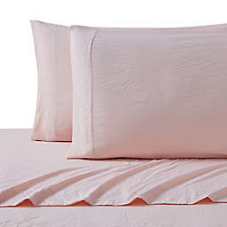 UGG® Devon Garment Washed Twin XL Sheet Set in Blush