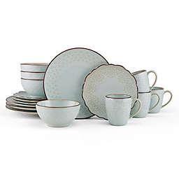 Pfaltzgraff® Joanne 16-Piece Dinnerware Set in Metallic Brown
