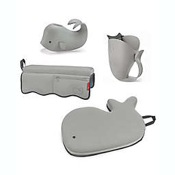 SKIP*HOP® Moby® 4-Piece Bath Time Essentials Kit in Grey